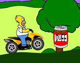 ATV do Homer Simpson