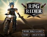Motociclista de RPG