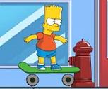 Bart Simpson em Skate